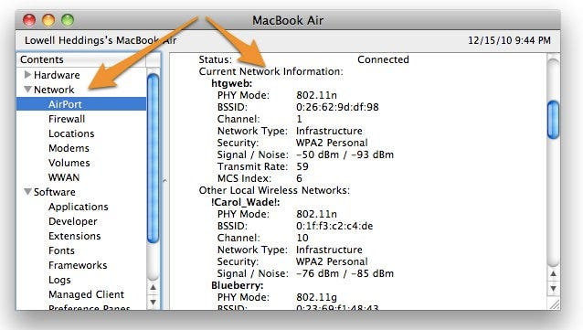 How to See Your Current Wi-Fi Connection Speed in Mac OS X