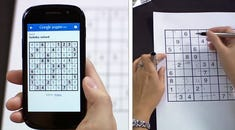 Updated Google Goggles Scans Faster; Solves Sudoku Puzzles