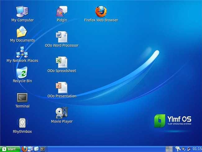 Ylmf OS is a Windows XP Styled Linux System - Tips general news