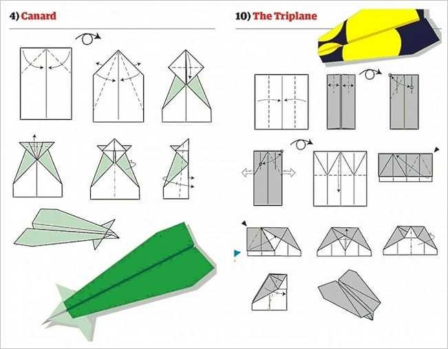 Awesome Paper Planes To Make For Fun At Home Or Work Geek
