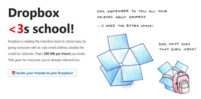 Double Your Dropbox Referral Storage By Verifying Your Edu Email