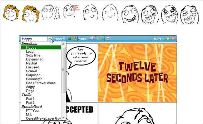 sshot4e28459c7580c create your own meme comics with rage builder [geek fun] tips