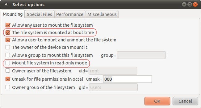 How to Auto Mount Partitions at Linux Startup the Easy Way