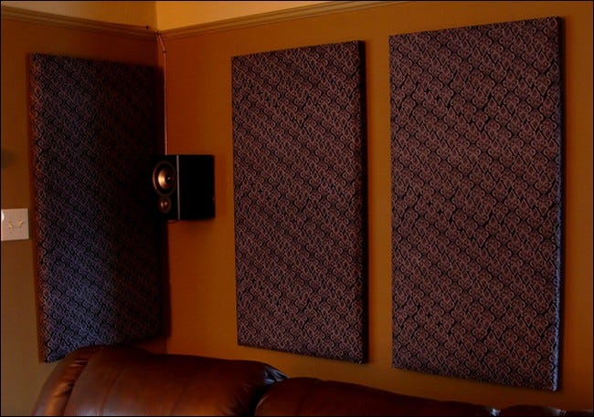 If You Re Looking For A Way To Add Sound Deadening Panels Your Home Theater On The This Diy Guide Written By An Acoustical Engineer Will Help