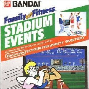 Cover of the Stadium Events game