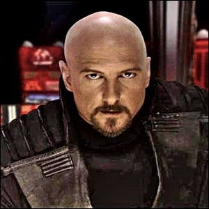 Joseph Kucan as Kane in the Command & Conquer game series
