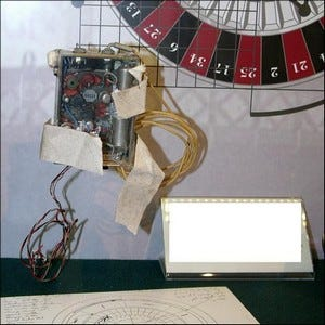 Example of the first wearable computer