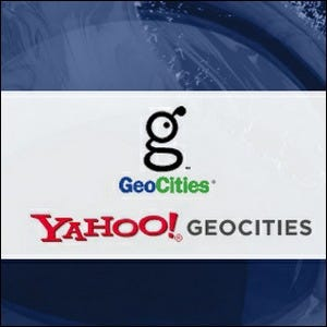 logo for Yahoo! GeoCities