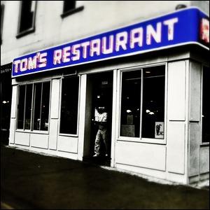 Tom's Restaurant in New York City