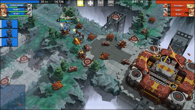 AirMech Is a Free and Fun Real-Time Strategy/Shooter Mashup