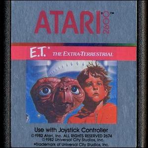 Cover art of the 1982 E.T. Atari Game