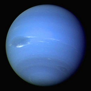 Photograph of Neptune