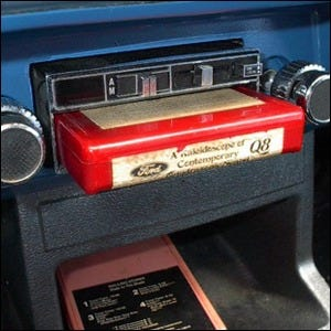 8 Track Music Players Were Originally Invented For Use In