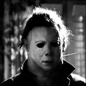 Michael Myers as the antagonist of the movie Halloween