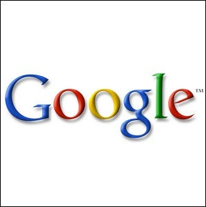 An example of one of the early Google logos