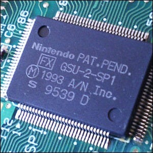 Example of an SNES game co-processor