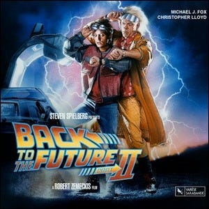 Movie poster for Back to the Future II