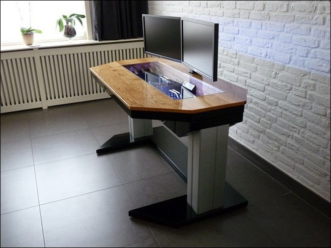 DIY Desk Sports In-desk Hardware and Adjustable Height Legs - Tips