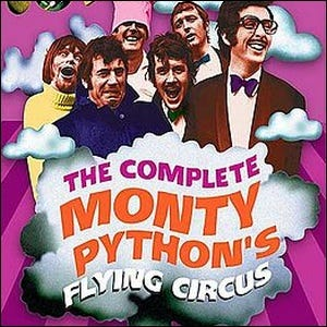 Cover of The Complete Monty Python's Flying Circus