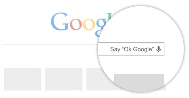 google voice search number