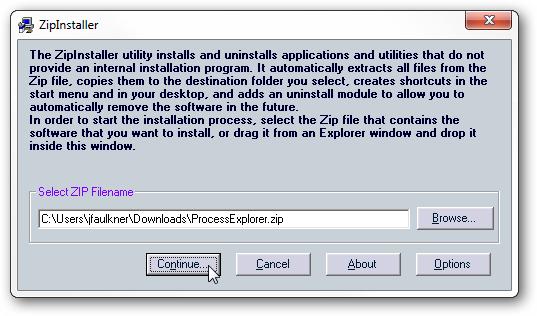Build an Installer for Installer-less Programs