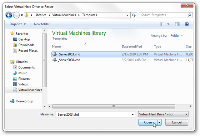 How to Resize a Microsoft Virtual Hard Drive (VHD) File