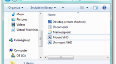 Mount and Unmount a VHD File in Windows Explorer via a Right-Click