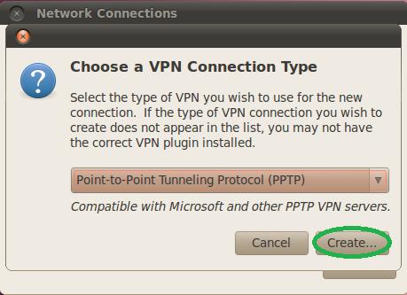 Ubuntu vpn network - Windows xp net version