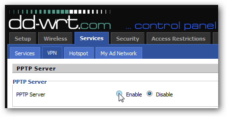 How to Setup a VPN Server Using a DD-WRT Router