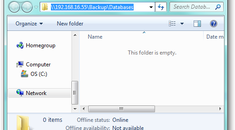 How to Backup SQL Databases to a Network Share