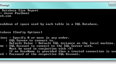 Easily View the Disk Space Usage of Individual SQL Tables in a Database